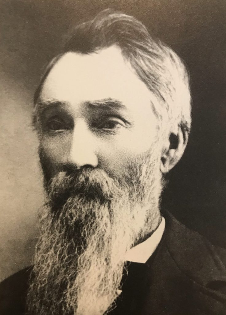 Evans Patriarch Thomas J. Evans 1836-1919 born in Whales England Refused to sell to Hearst!