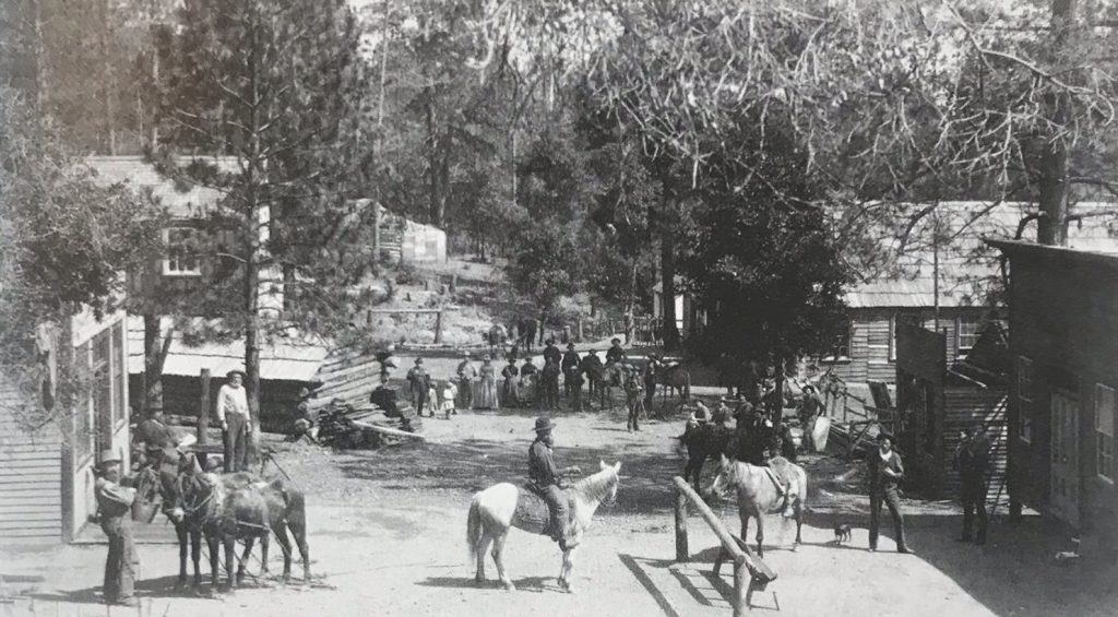 Manchester heart of Los Burros Mine District near Last Chance Mine c. 1889