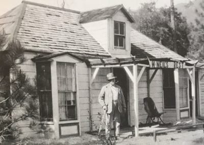 John D. Cruikshank at McNeils Rest c. 1930